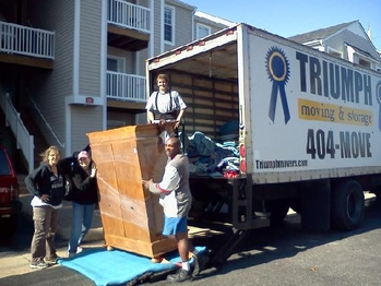 Triumph Moving U0026 Storage Employees Work Hard To See To It That Each Job  Performed Is Completed Correctly. Each Move Performed Is Like A Snow Flake,  ...